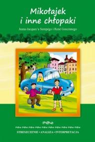 okładka Mikołajek i inne chłopaki Jeana-Jacquesa Sempégo i René Goscinnego, Ebook | Marta  Zawłocka