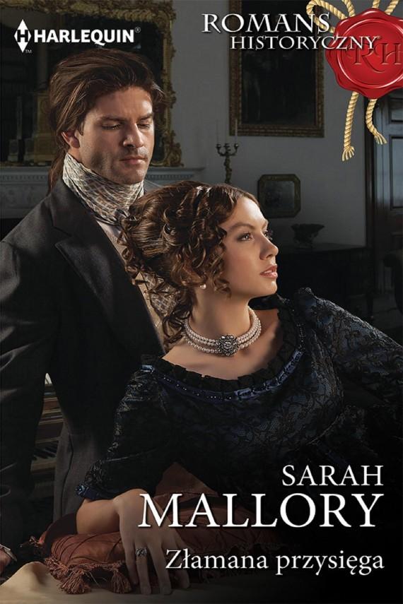okładka Złamana przysięga. Ebook | EPUB, MOBI | Sarah Mallory