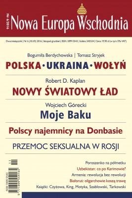 okładka Nowa Europa Wschodnia 6/2016, Ebook | autor  zbiorowy