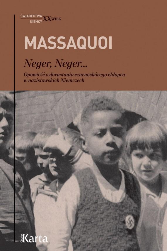 okładka Neger, Neger...ebook | EPUB, MOBI | Hans-Jürgen Massaquoi