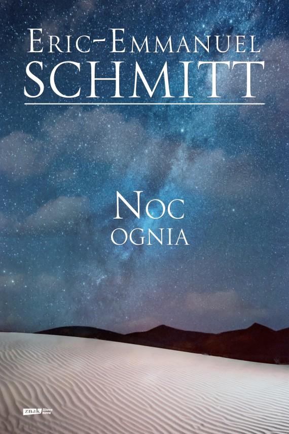 okładka Noc ognia. Ebook | EPUB, MOBI | Eric-Emmanuel Schmitt
