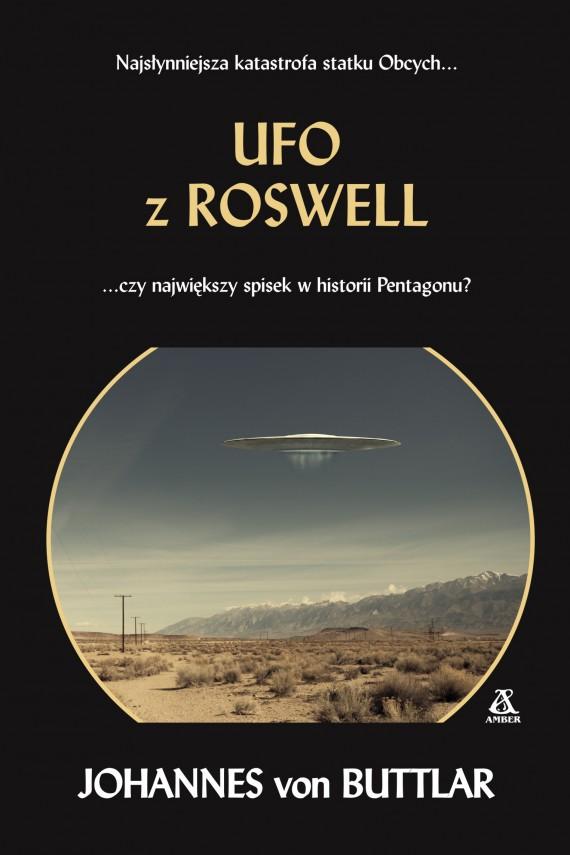 okładka UFO z Rosswel. Ebook | EPUB, MOBI | Johannes von Buttlar