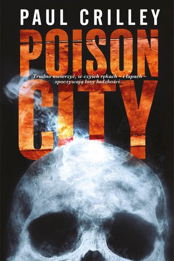 okładka Poison City. Ebook | EPUB, MOBI | Paul Crilley, Jerzy Malinowski