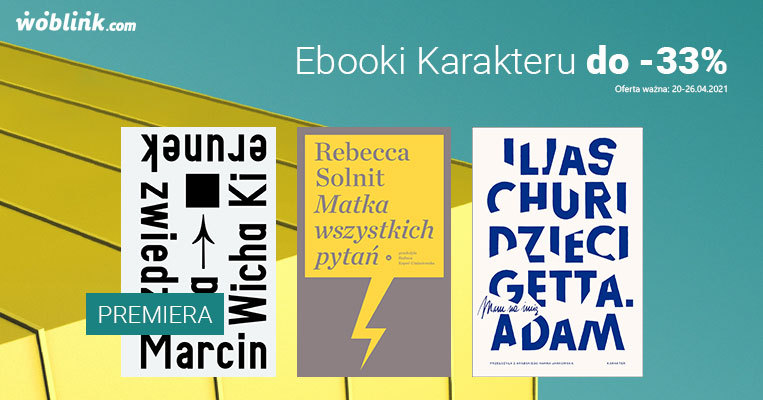 Ebooki Karakteru do -33%